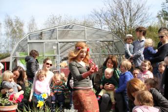 Storytelling at Brockwell Park