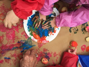 Storytelling and art with preschoolers