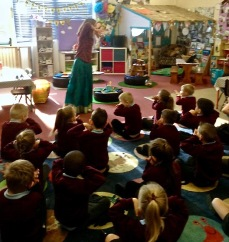 Storytelling with early years children in Kent
