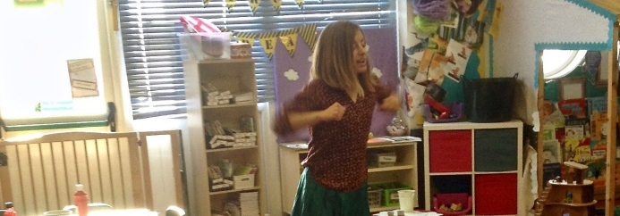 Storytelling and art with early years