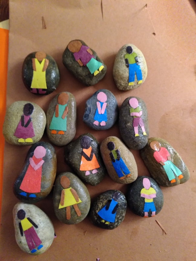 Stones in progress